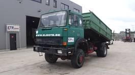 tipper truck > 7.5 t Iveco Magirus 170 - 23 (4X4 / GRAND PONT / SUSPENSION LAMES / V8 / POMPE MANUELLE) 1997