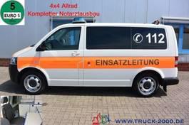 ambulance lcv Volkswagen T5 2.0 TDI 4 Motion Binz Notarzt - Rettung 1.Hd 2014