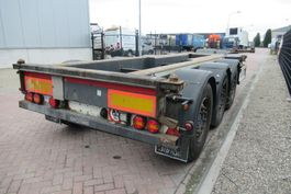 container chassis semi trailer Renders Euro 800 / SAF + Disc / 2x Extendable 2012