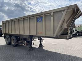 tipper semi trailer Benalu Alu kipper 2 axle drum and steel suspension 1999