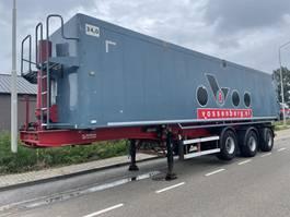 tipper semi trailer Bulthuis TATA 23 62 m3+BPW+TUV+HOLLAND TRAILER 2002