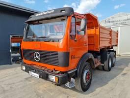 tipper truck > 7.5 t Mercedes-Benz 2632 K 6x4 meiller tipper - big axle 1980