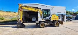 wheeled excavator New Holland we170C 2014