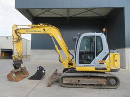 mini digger crawler New Holland E 80 B M SR-2 2009