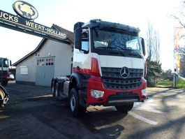cab over engine Mercedes-Benz Arocs 3345 6x6 with hydraulics 2016