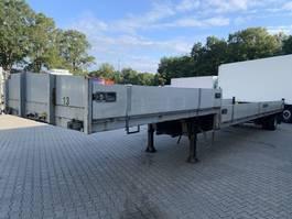 flatbed semi trailer Jumbo 1 AS 11.7M Semi/Open, Stuuras, Nieuwe APK! 1994