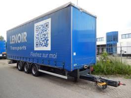 tilt trailer Fruehauf FRECT4 3 As Wipkar Schuifzeil, 02-WX-JX 2012