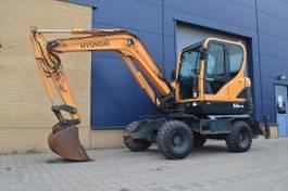 wheeled excavator Hyundai Robex 55W-9 - Mobiele graafmachine 2010