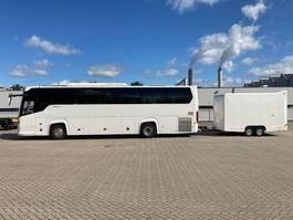 tourist bus Scania TOURING HD   51 SEATING PLACES   RETARDER    + KASSBOHRER TRAILER   2017