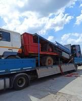 box truck MAN 19.463 1x 19.463 1x 19.402 1x BPW DRUM Flat trailer