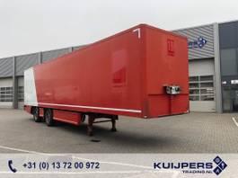 closed box semi trailer Renders 2 as Gestuurd X-steering / Box / Laadklep 2011