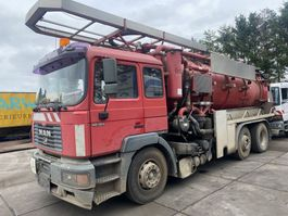 vacuum truck MAN 26.364 KOLKENZUIGER 1998