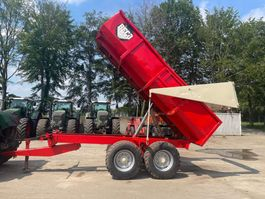 tipper trailer agricultural Beco s800