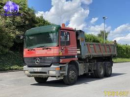 tipper truck > 7.5 t Mercedes-Benz Actros 3331 2002