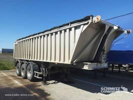 tipper semi trailer Benalu Semitrailer Tipper Alu-square sided body 22m³ 2004