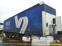 sliding curtain semi trailer Schmitz Cargobull Semitrailer Curtainsider Standard Hydr. laadklep 2011