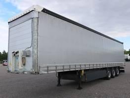 tilt trailer Schmitz Cargobull SCS 24 Liftachse RSAB P-Kasten 2018