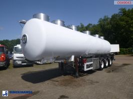tank semi trailer semi trailer Magyar Food tank inox 28.5 m3 / 4 comp + pump 2001