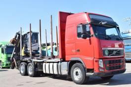 timber truck Volvo FH 500 EEV Kesla Kabinekran 2014Z Retarder 2012