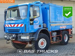 box truck Iveco EuroCargo 140 140E180 4X4 Manual 4X4 Mobile Workshop Euro 4 2005