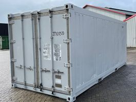 isolated shipping container Vernooy 20ft geisoleerde zeecontainer Z273245