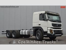 chassis cab truck Volvo FMX 500 // 6x4 2012