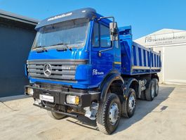 tipper truck > 7.5 t Mercedes-Benz 3544 K 8X6 (8X4) meiller tipper - big axle 1997