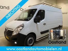 closed lcv Opel 2.3 CDTI L2H2 136 PK Servicebus / Inrichting / Airco / Cruise Control / ... 2015