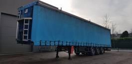 tilt semi trailer Kaiser bache trailer disk MB axel air 2000