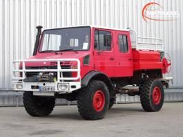 fire truck Unimog U 1550 L 4x4 Unimog U1550 L (437) Mercedes Benz, Doppelkabine, SIDES CCF... 1991