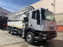 concrete pump truck Iveco Trakker 350 SCHWING modelo 34X