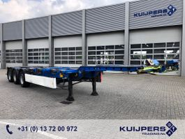 container chassis semi trailer Krone SD / 3 axle BPW Drum / 20-30-40-45 ft Containers / Flex chassis 2008