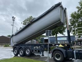 tipper semi trailer Meiller KISA 3 - ISOLATED TIPPER 2015