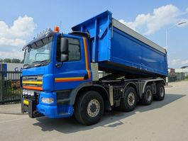 container truck Ginaf X 4243 TS 8X4 / 30 TONS HAAKSYSTEEM / NL TRUCK / KEURING 2022 / TUV 2022 / PERFECT CONDITION 2009