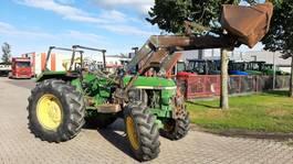 farm tractor John Deere 2650 4WD Cabrio met Frontlader 1990
