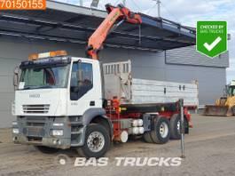 tipper truck > 7.5 t Iveco AD260S43 6X2 6x2*4 Crane Kran Palfinger PK16502 Remote 2005