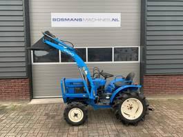 farm tractor Iseki TX1510 4WD 15 PK minitractor + frontlader