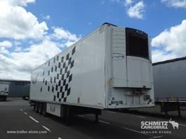 refrigerated semi trailer Schmitz Cargobull Semitrailer Reefer Mega Dubbele laadvloer Hydr. laadklep 2016