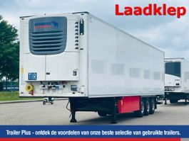 refrigerated semi trailer Schmitz Cargobull Vries Standard Dubbele laadvloer Hydr. laadklep 2018