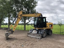 wheeled excavator Caterpillar M313D