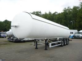 tank semi trailer semi trailer Robin e Gas tank steel 51.5 m3 2006