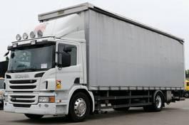 tilt truck Scania P320 Pritsche Plane ADR Alufelgen Schalter E5 2012