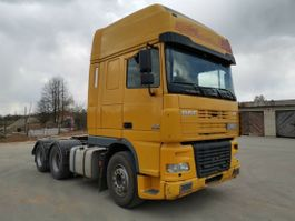 cab over engine DAF XF 95 /430 Manual 6x2 10 tires.Steel Air.Intop 2006