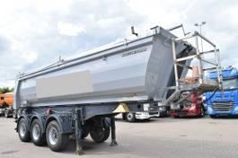 tipper semi trailer Meiller KISA3 Stahlmulde 24m³ Liftachse 2011