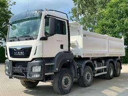 tipper truck > 7.5 t MAN TGS 35 8x6 EURO6 Dreiseitenkipper 2015