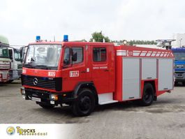 Feuerwehrauto Mercedes-Benz Ecoliner 1124 + Euro 2 + Pump + hose 1998