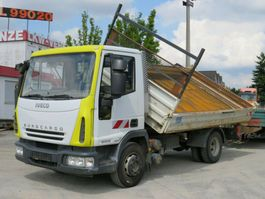tipper truck Iveco EuroCargo 80 E 18 2-Achs Kipper Meiller 189tkm 2007