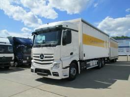 anderer LKW Mercedes-Benz Actros 2545 L Getränkekoffer 7,8 m LBW 2 T*LASI 2014