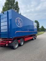 tipper trailer Bulthuis SVF Kipper 60 kuub 4 axle / 3 sides / bpw 2013