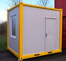 office living container Vamiro Residential container - cell, Residential container, Office container, Living container, Commercial container, Resident unit, Garden container, Portable cabin, Modular building, 3m x 2,45m x 2,8m - NEW 2021